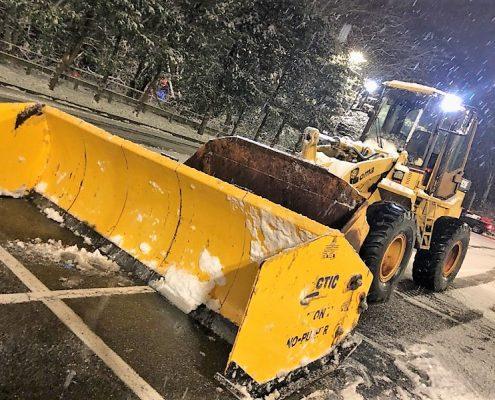 big snow management equipment